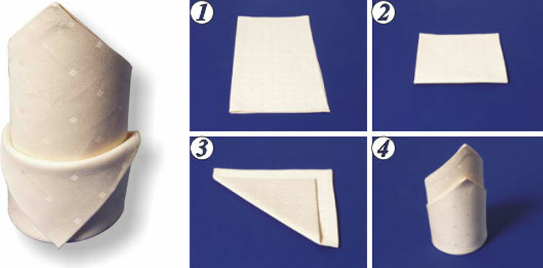 Как сделать из салфеток и стакана