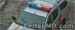 Спецоперация по эвакуации людей пожарными Бельц