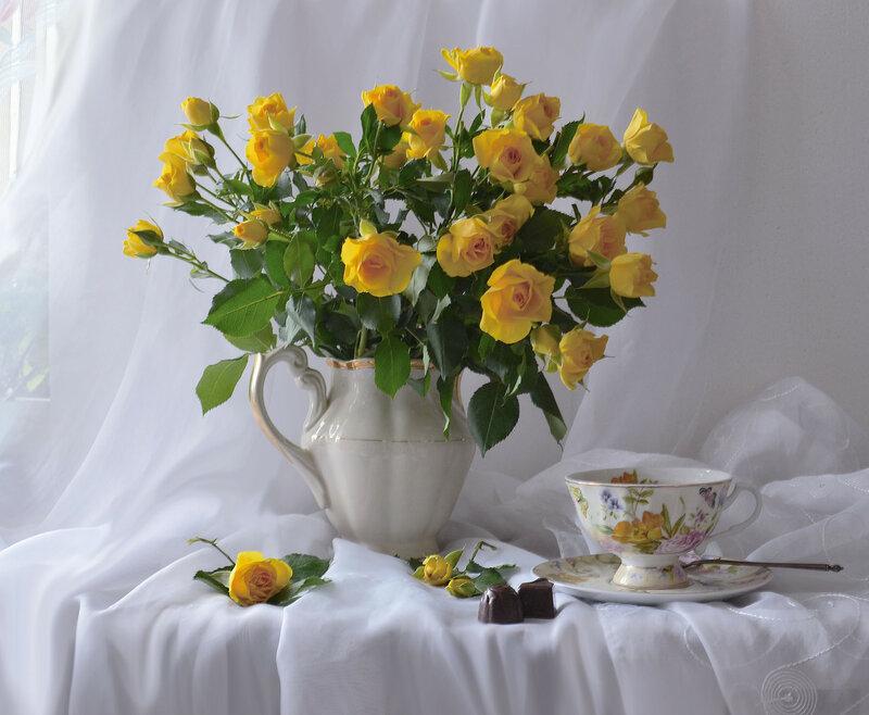 Ах...как прекрасен розы аромат...