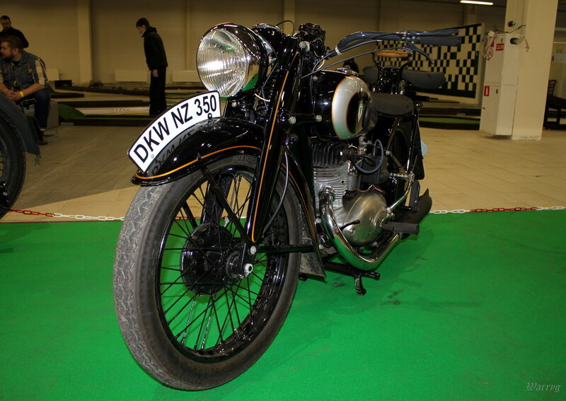 Немецкий мотоцикл DKW NZ350 1942 г.в.