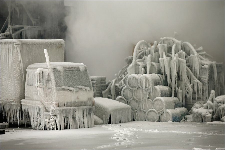Пожаротушение в мороз