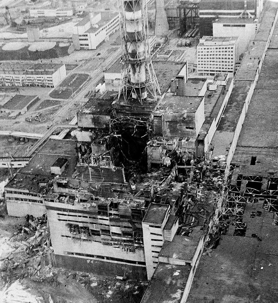 чернобыльской аэс фото реактора