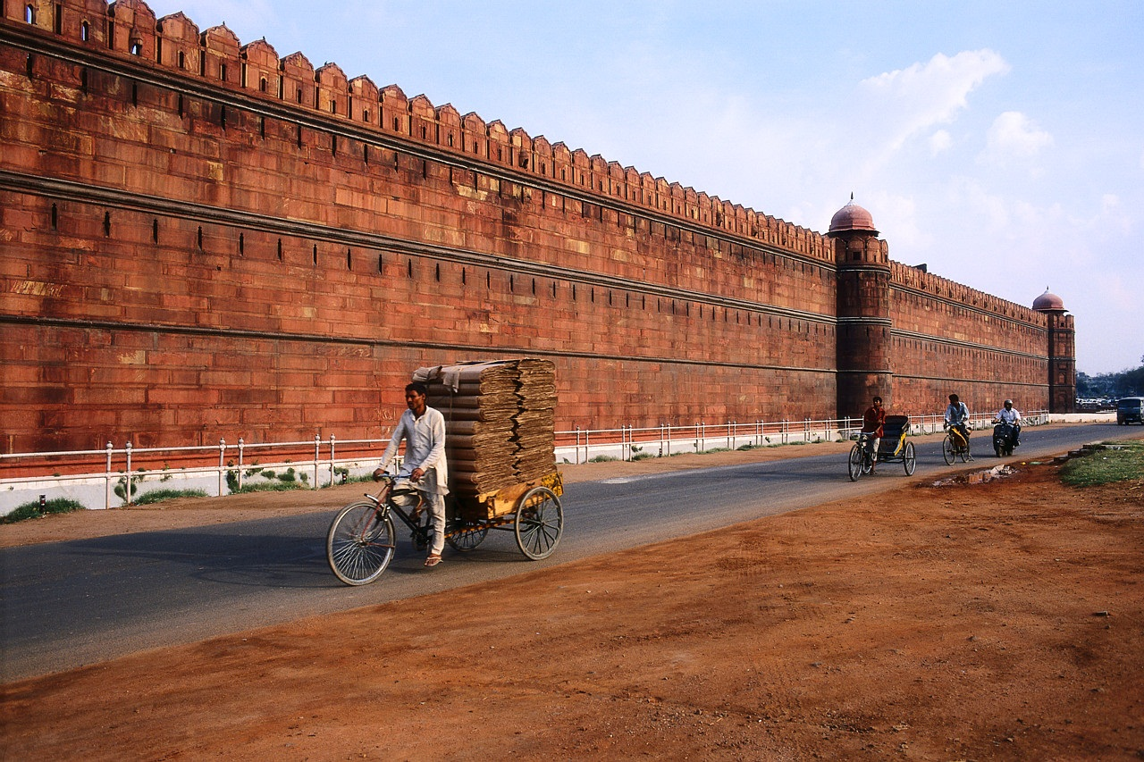 Exterior of Red Fort and Palace