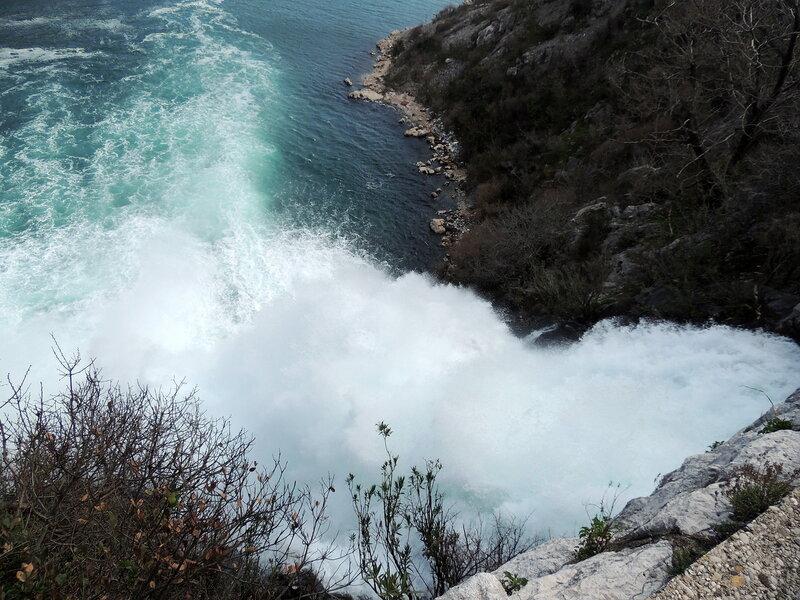 Водопад в Боке
