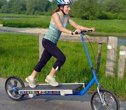 Беговая дорожка, как велосипед