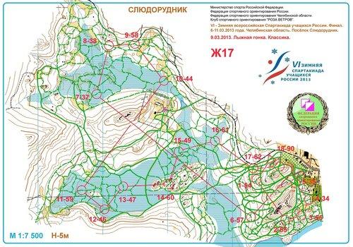 Спартакиада учащихся России, 6-11.03.2013