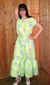 как сшить просто платье