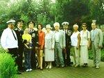 Члены ВМС на закладке памятника мореходам в Тотьме. Август 2001 г. .JPG