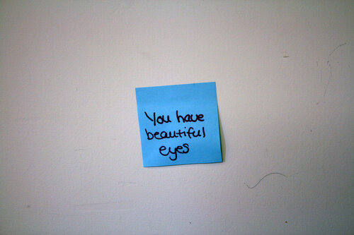 У тебя красивые глаза