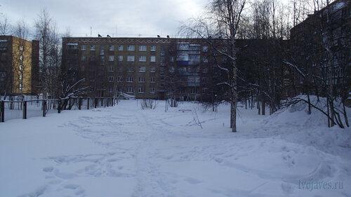 Фото города Инта №2985  Куратова 38, 40 и Воркутинская 2 01.02.2013_13:02