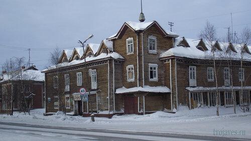 Фотография Инты №3200  Юго-восточный угол Кирова 16 03.02.2013_12:11