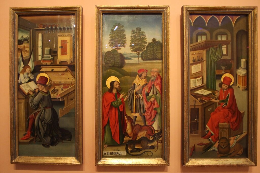 Madrid. The Thyssen-Bornemisza Museum. German and Spanish paintings of the 15th century