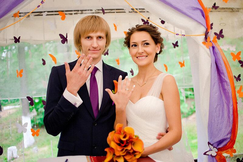Свадебная фотография от 9 7 2 14 Фотограф: Юлия