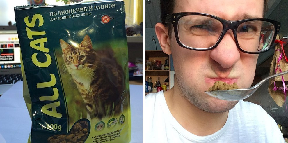 кошачий корм ALL CATS на вкус