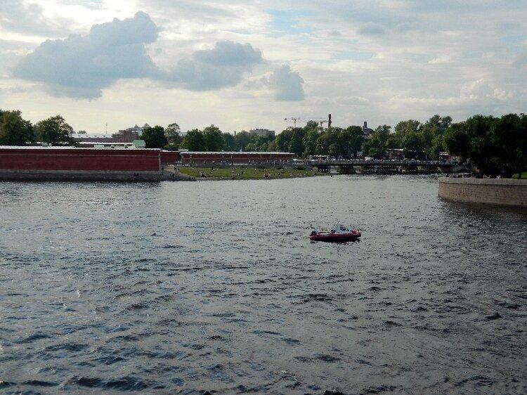 Иоанновский мост (снято с Троицкого моста)