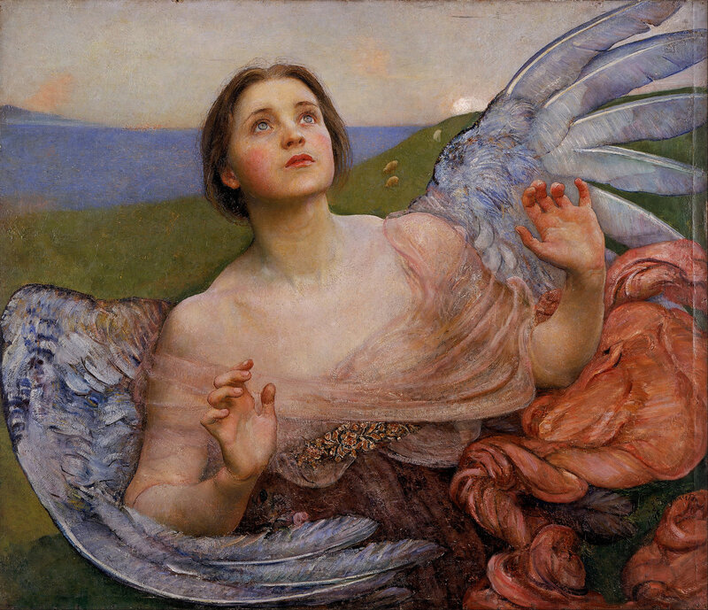 Annie Louisa Swynnerton (née_Robinson): The Sense of Sight