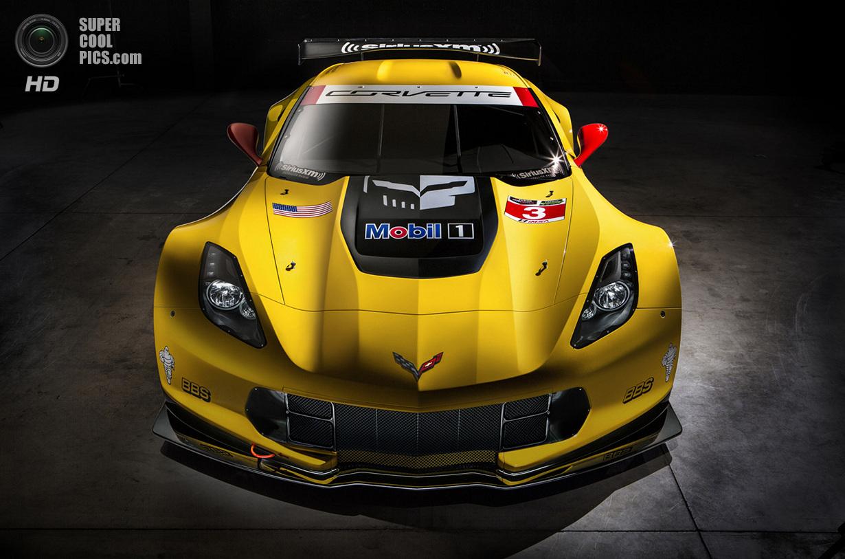 Chevrolet показала гоночный Corvette C7.R (9 фото)