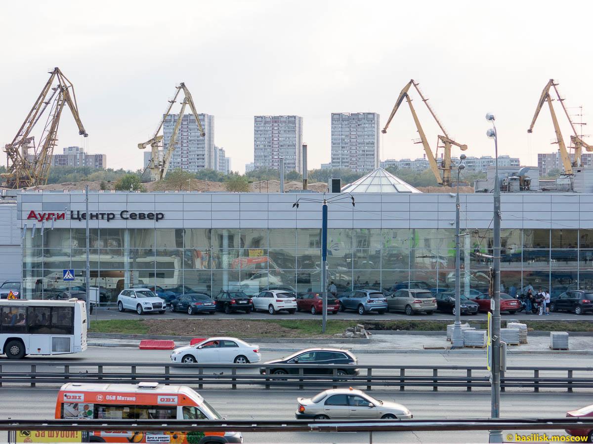 Квартира Антона Кротова. Москва.