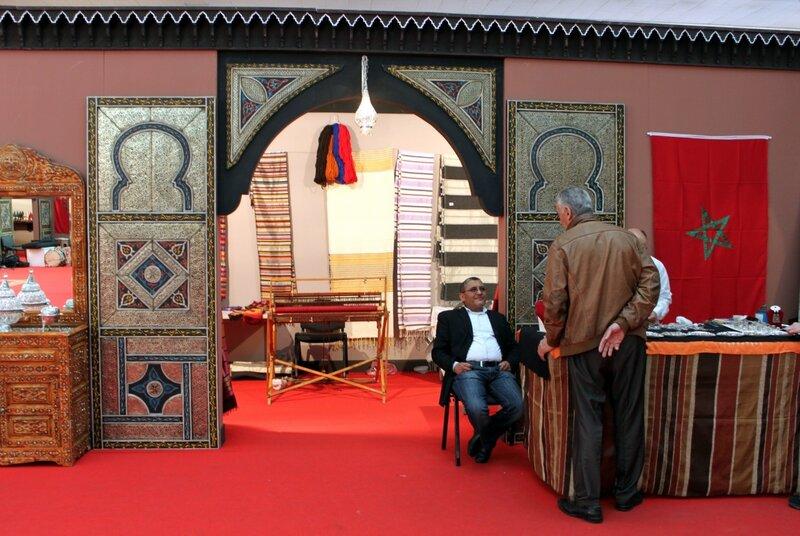 Экспозиция выставки Марокко