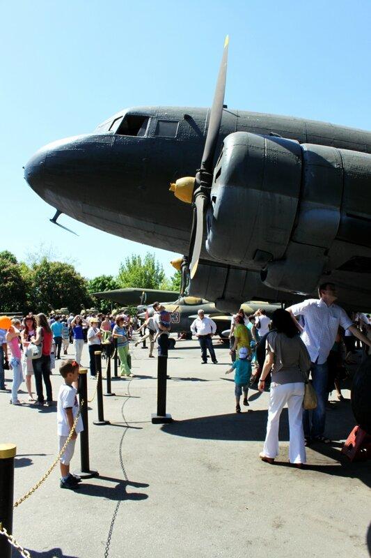 Музейная площадка военной техники