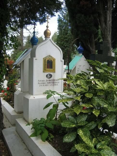Могила Алёши Дмитриевича