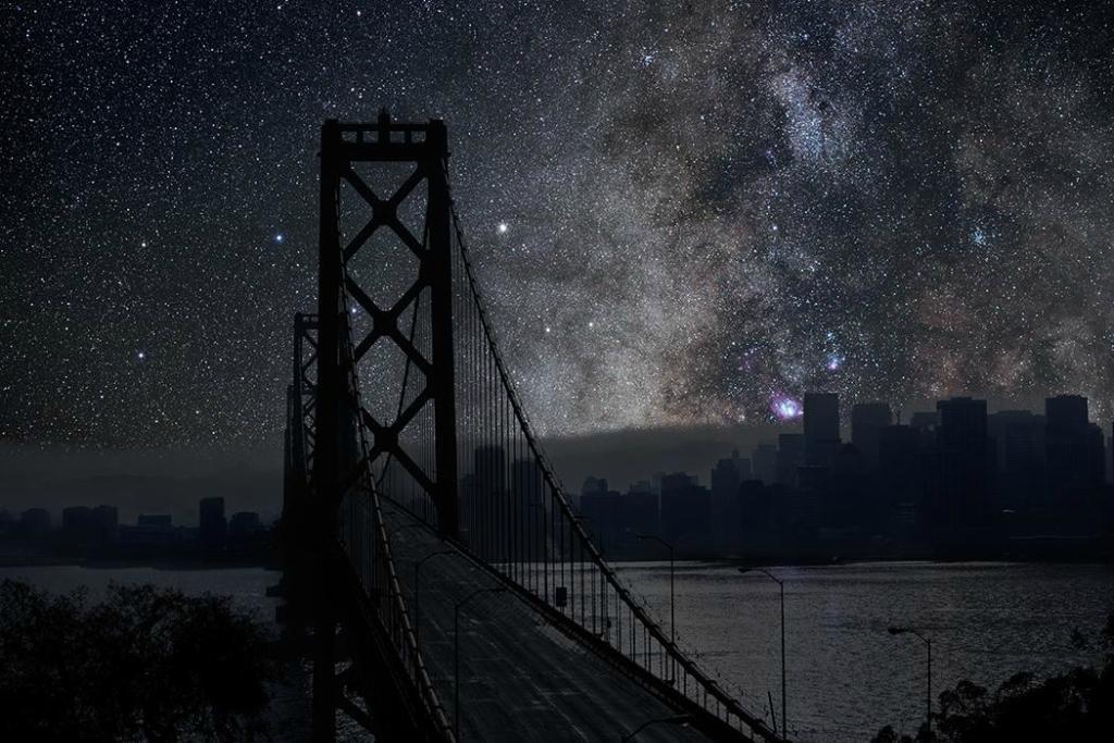 Блоги. Города под звездным небом. далеко, городом, делал, звездного, Французский, ночного, потом, совмещал, Angeles, Janeiro, Francisco, городов, фотографиями, погасить, Фотографии, создал, серию, Cohen, Thierry, фотограф