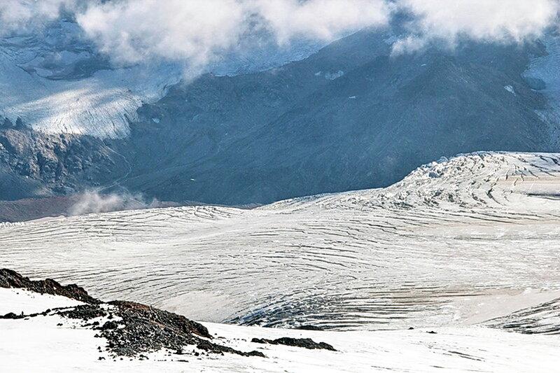 Сентябрь 2012, горы, восхождение на Эльбрус, фотографии Виталия Жигулина