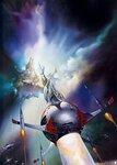 Картины, тема - космос, Борис Валенджо