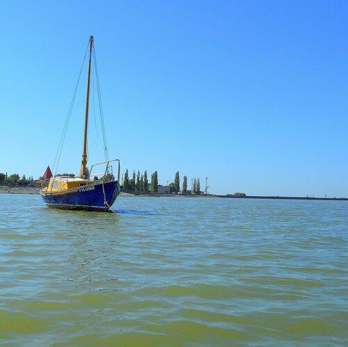 На финише лета, яхтенный старт. 2015-08-27
