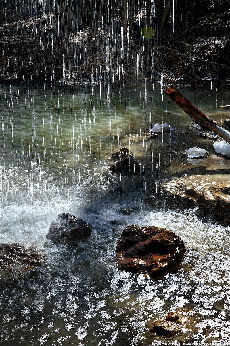 Водопад Нижний Кубалар
