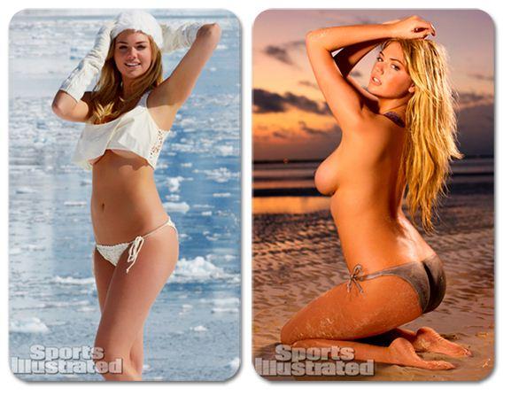 купальники и бодиарт - Кейт Аптон / Kate Upton - Sports Illustrated 2013 Swimsuit and Bodypaint