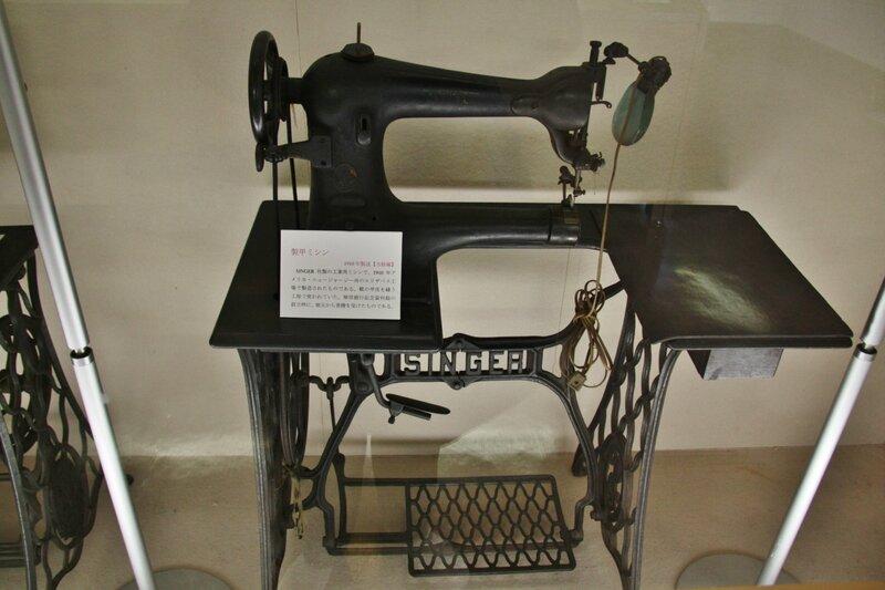 Ножная швейная машинка для
