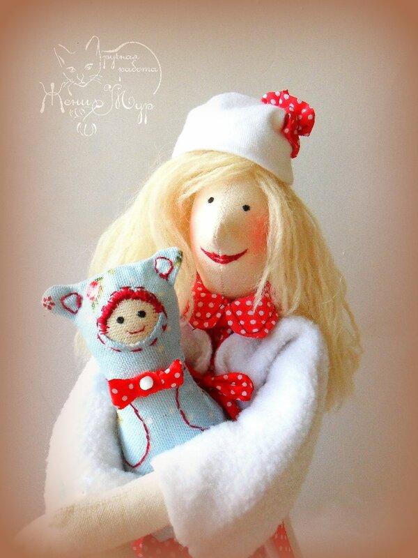 тильда с малышом