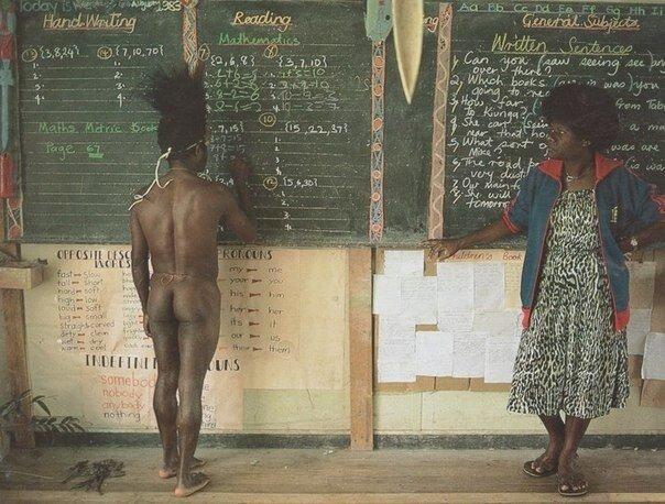 Папуа Новая Гвинея. Школа