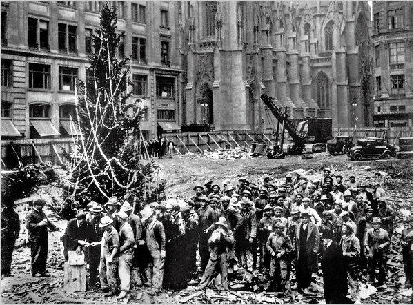 Рождественское дерево 1931 года