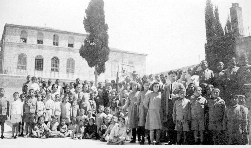 Дети из детского дома Васбураган в Иерусалиме