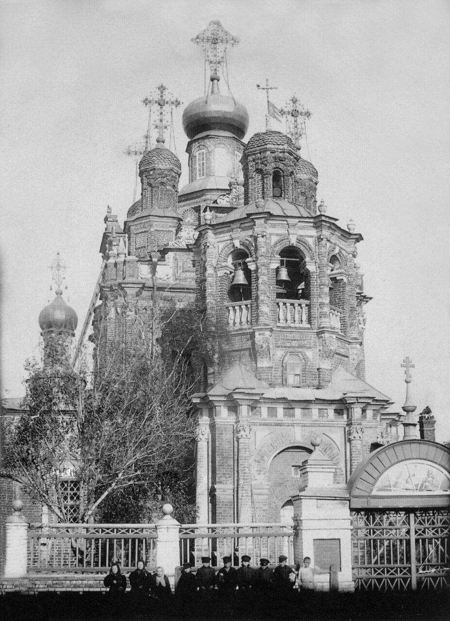 Церковь Смоленской иконы Божьей Матери в селе Гордеевке