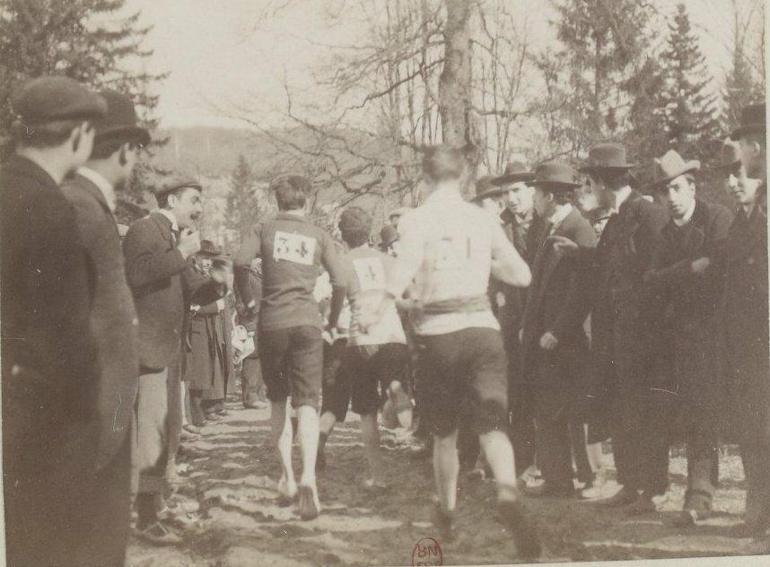 Национальный чемпионат  по бегу по пересеченной местности. Виль-д'Аврэ, 5 марта 1899 года