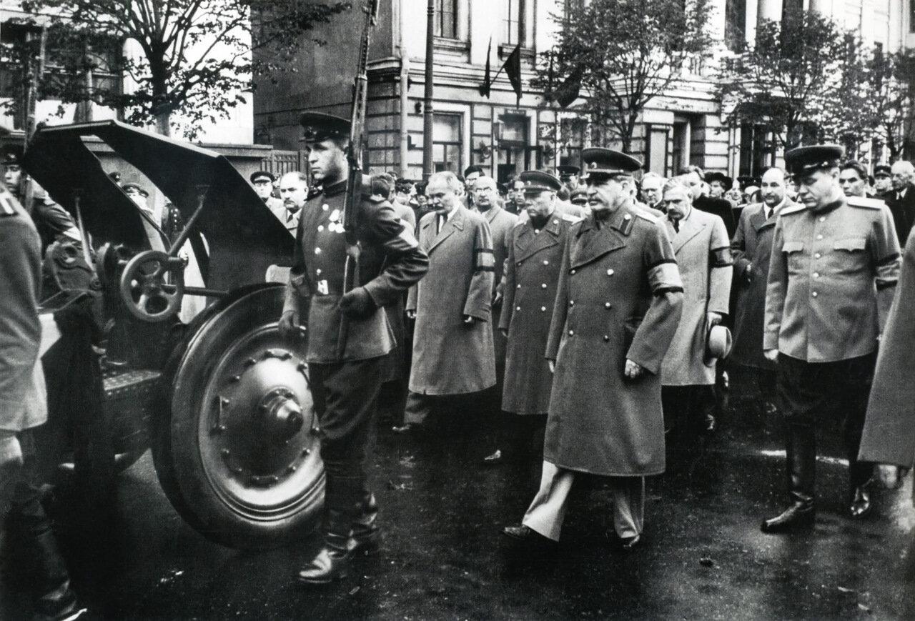 Похороны Андрея Жданова. Москва. Сентябрь 1948 г.