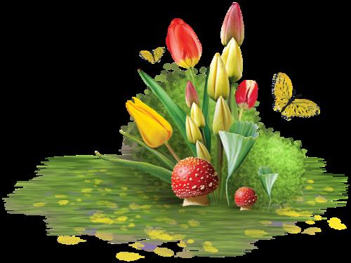 Скрап-набор «Тюльпаны»