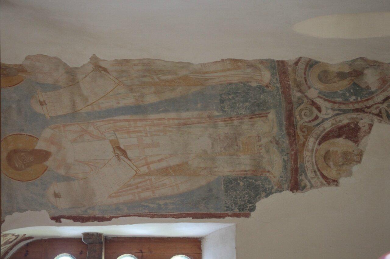 Старая Ладога - крепость, фрески