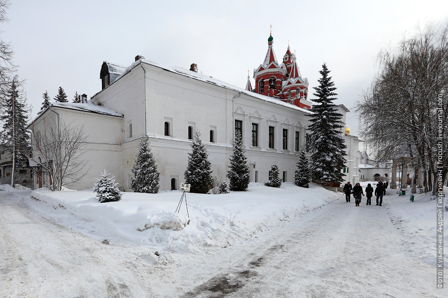 Трапезная палата и звонница монастыря Саввино-Сторожевский монастырь