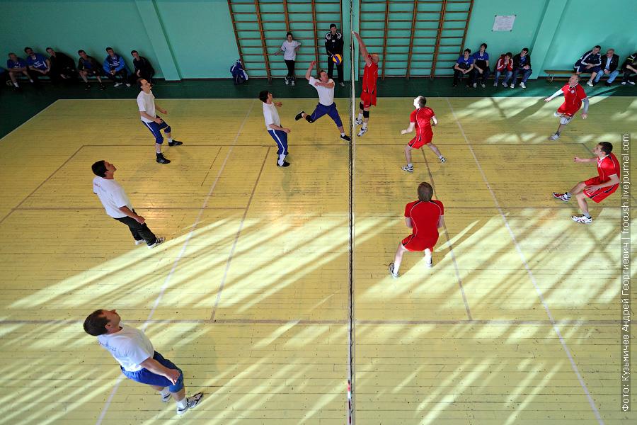 Команды по волейболу «Яхтенный порт» и «Порт Коломна» 10 спартакиада речников