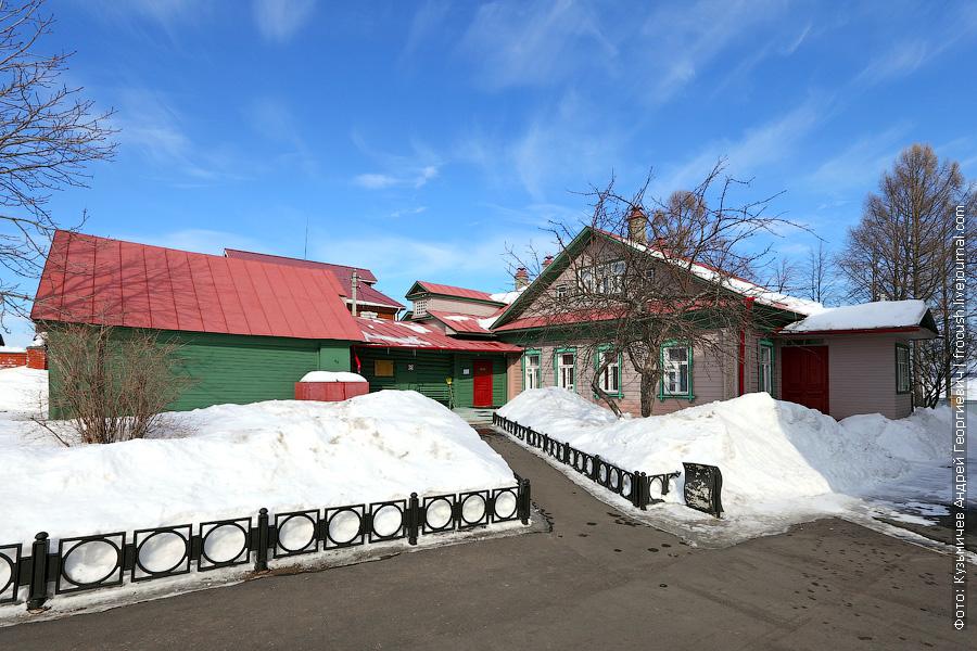 Чкаловск, мемориальный музей В.П.Чкалова, дом, где в 1904 году родился и вырос летчик