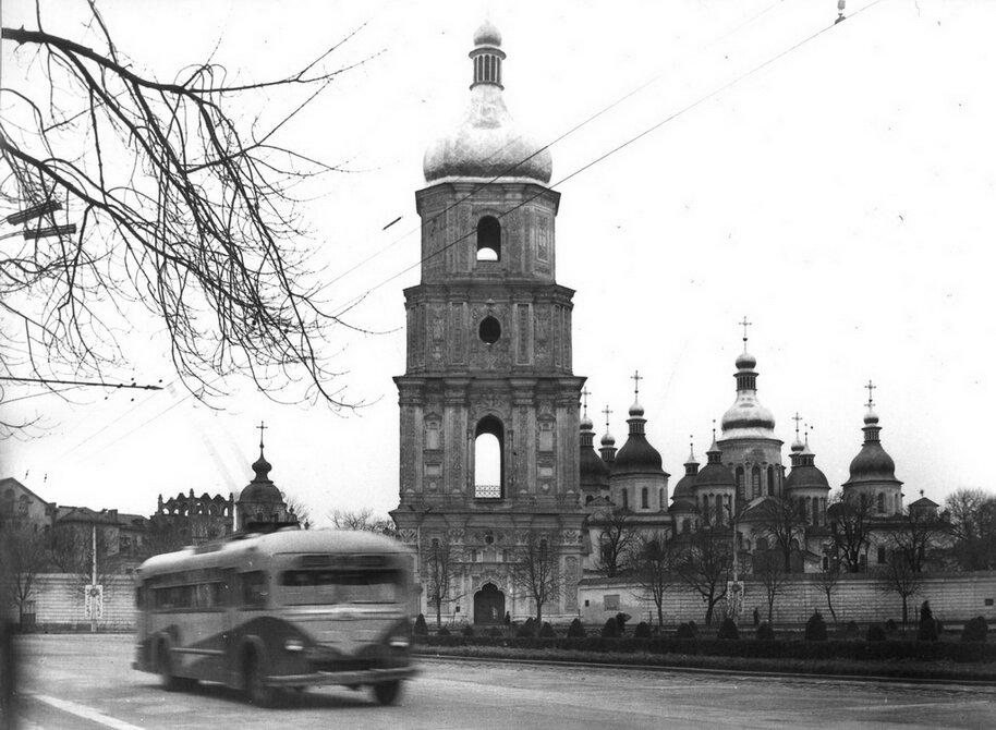 1959.12.11. Софийский собор. Фото: Лишко К.И.