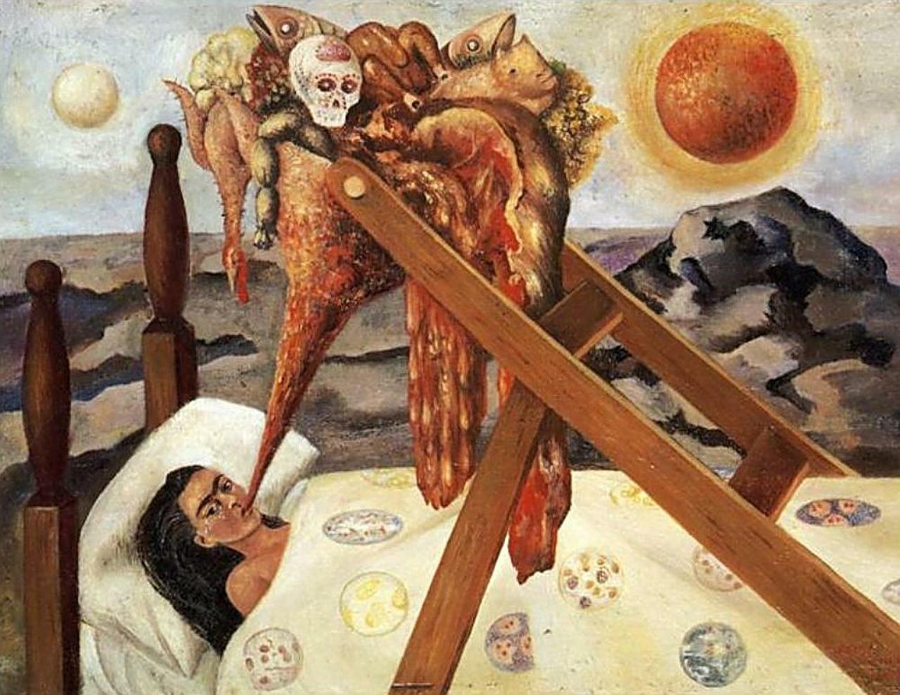 Без надежды  1945г.Кало Фрида,  (1907-1954);
