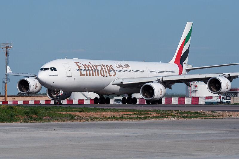 Airbus A340-541 (A6-ERB) Emirates DSC0342