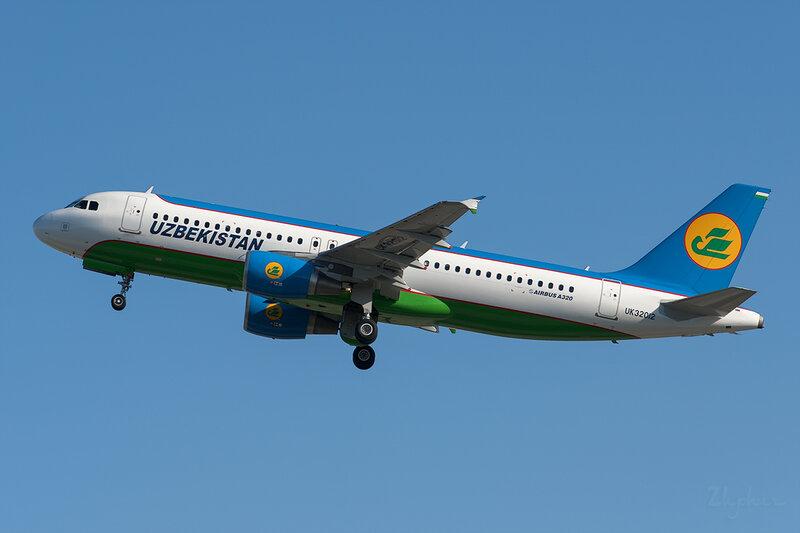 Airbus A320-214 (UK32012) Uzbekistan DSC6752