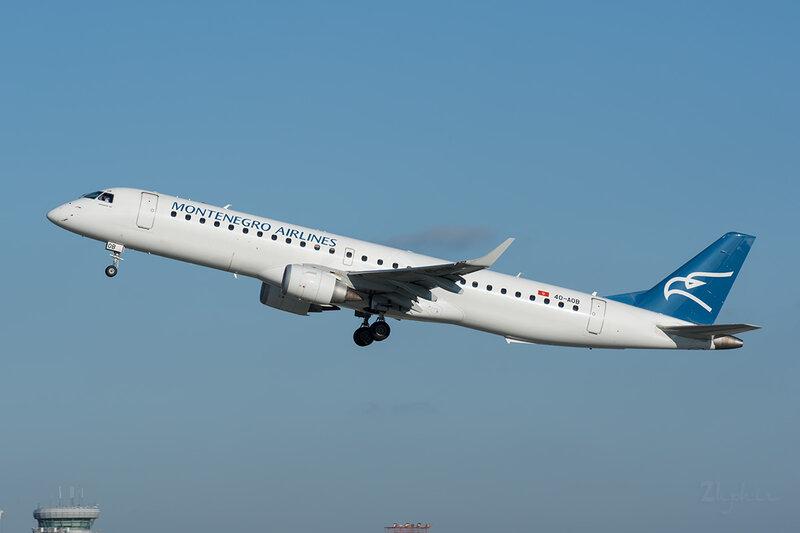 Embraer 190-200LR (4O-AOB) Montenegro Airlines DSC7080