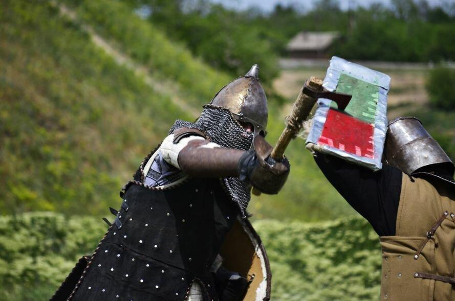 Запорожские казаки прошли «9 порогов»: сдвигали воз весом в 2 тонны и метали камни (ФОТОРЕПОРТАЖ), фото-7